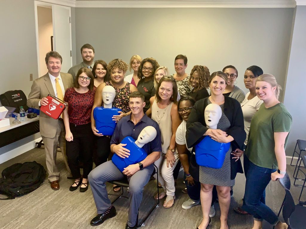 Birmingham law firm CPR training