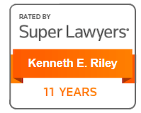 Superlawyers badge 11 Years Kenneth E. Riley